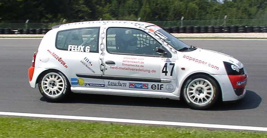 Salzburgring 2003 freies Training 2.Platz Felix Gropengießer