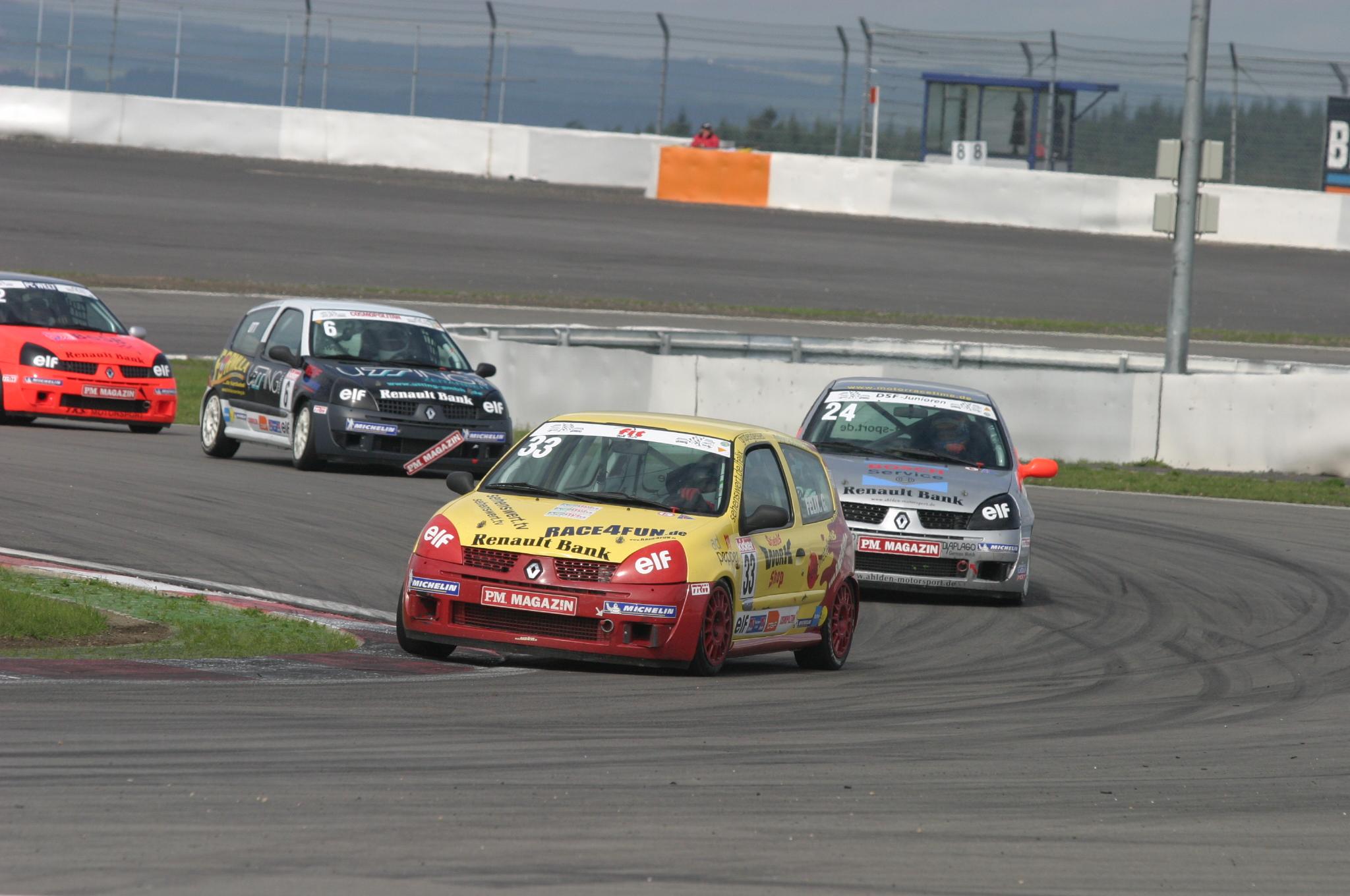 Nürburgring 6.Platz 2004 Felix Gropengießer