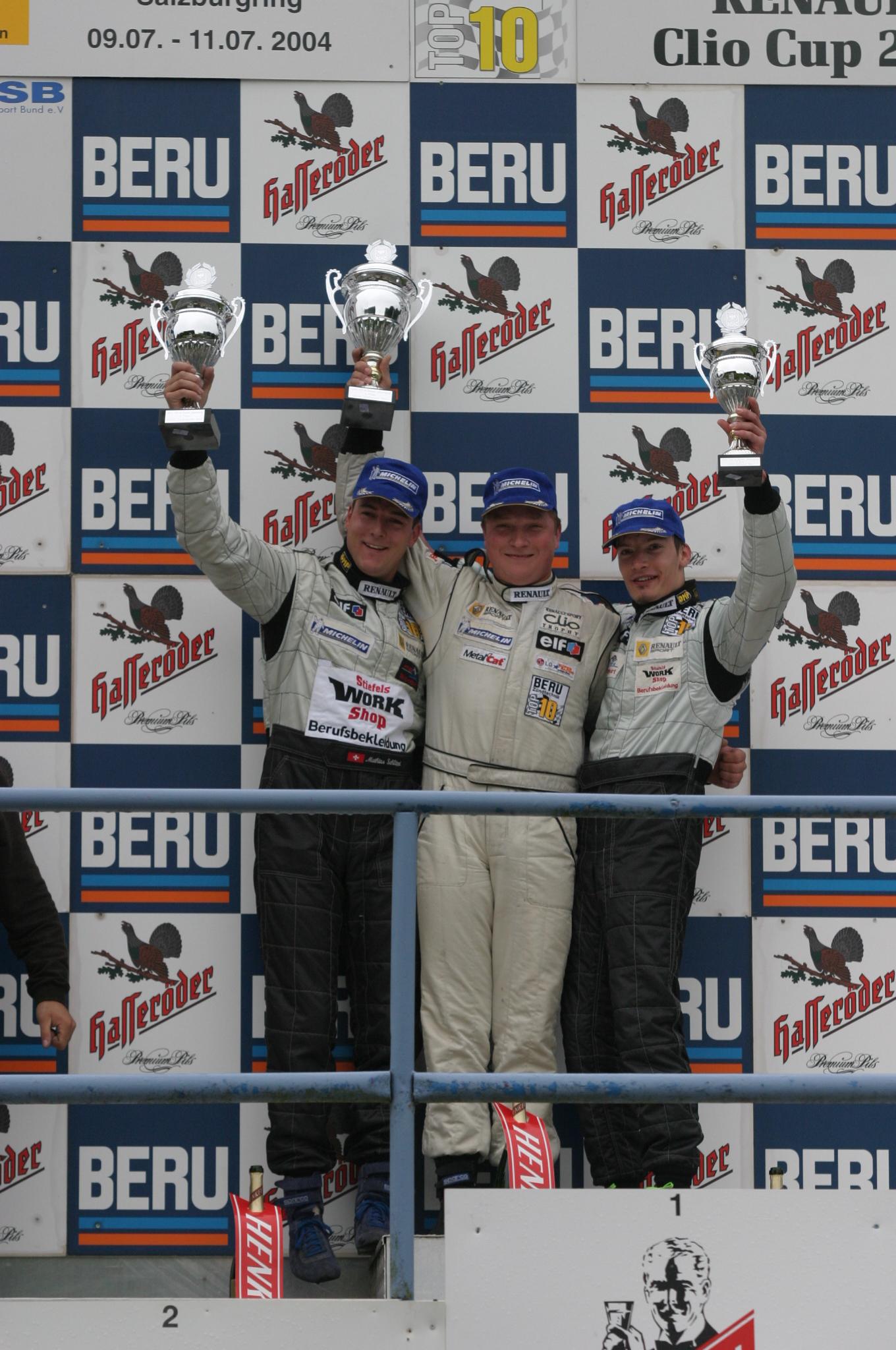 Salzburgring 3.Platz 2004 Felix Gropengießer