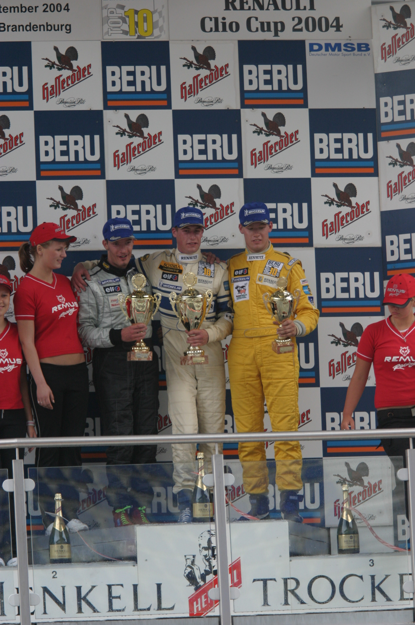 Lausitzring 2.Platz 2004 Felix Gropengießer