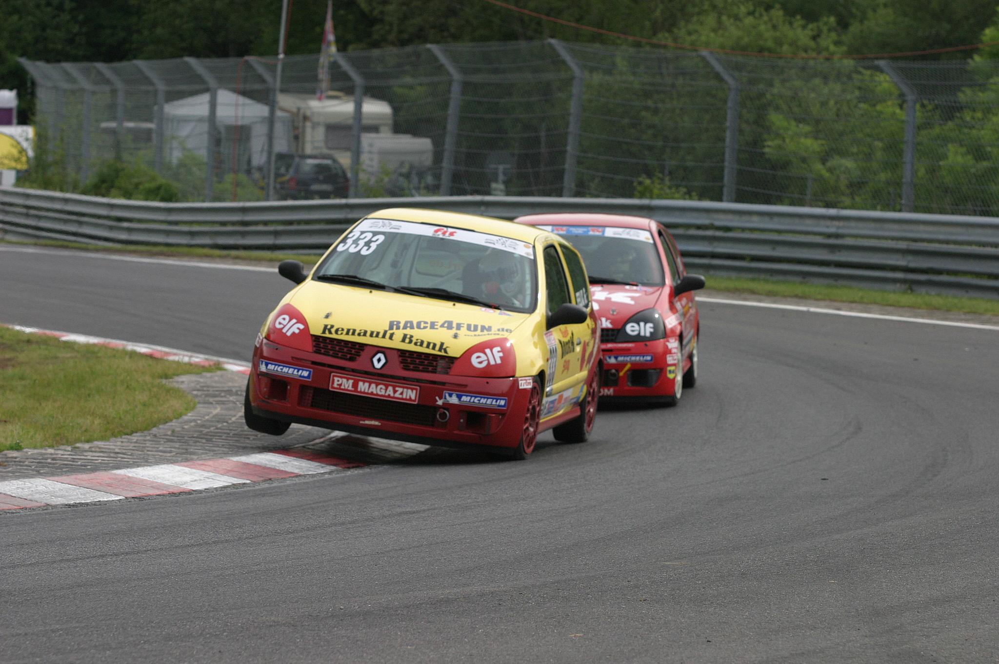 Nordschleife Quali 4.Platz 2004 Felix Gropengießer
